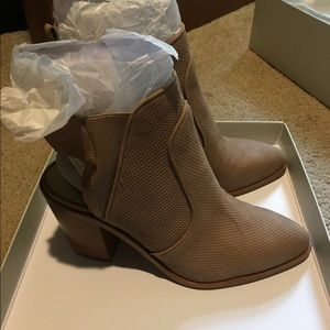 1. State Leban leather booties
